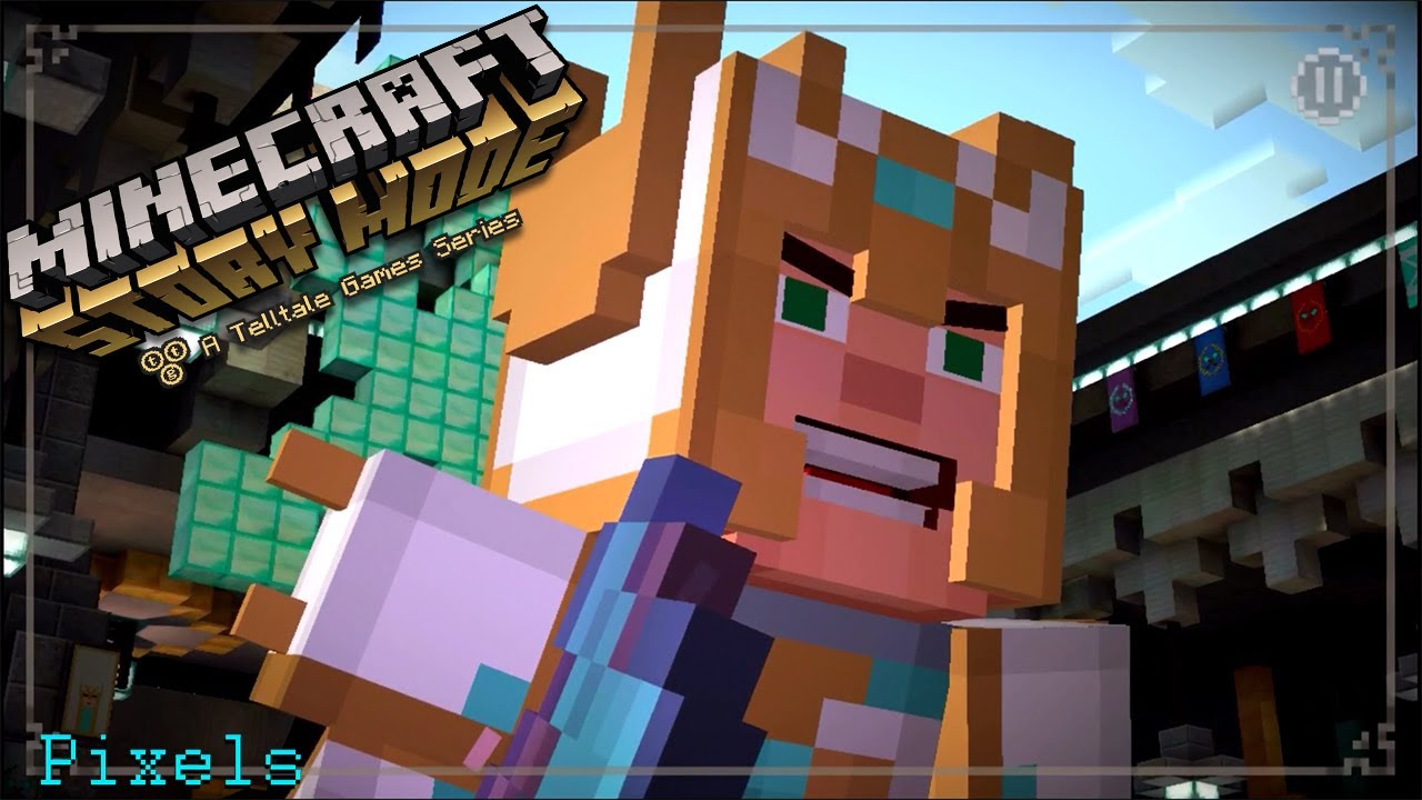 """Download Minecraft Story Mode - Episode 8 """"A Journey's End?"""" Full Chapter"""