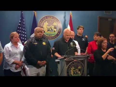 Mayor Mitch Landrieu gives an update on the city's pumping stations: Video