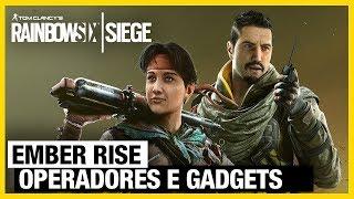 Rainbow Six Siege: Ember Rise - Gameplay de Operadores e Gadgets