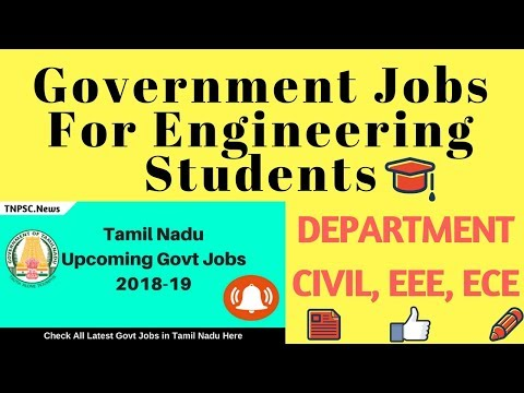 Government jobs for Engineers 2018 Tamil Tech & Mystery
