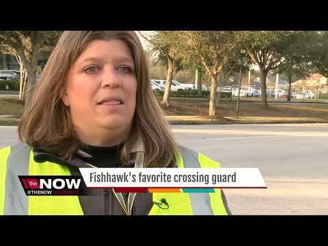 Vote Now: Lithia Crossing Guard Up For America's Favorite Crossing Guard Title