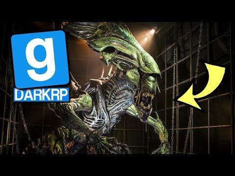 ON A TROUVÉ LA REINE ALIEN ELLE EST GORE ! GMOD DarkRP