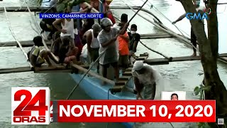 24 Oras Express: November 10, 2020 [HD]