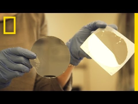 Incredible Solar Stickers Capture Sun's Energy | National Geographic