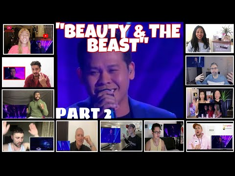 """BEAUTY AND THE BEAST"" PART 2 REACTORS REACTION COMPILATION/FINAL PERFORMANCE"