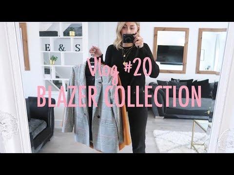 Vlog #20 | My Blazer Collection & How I Style Them