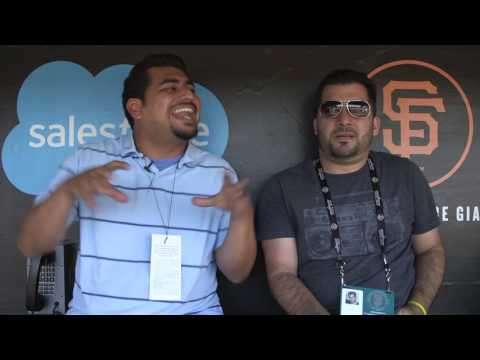 KNBR 1050's The Audible visits AT&T Park