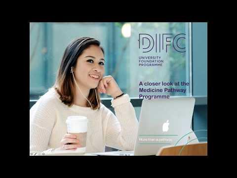 DIFC Study Medicine Abroad Webinar - February 2018