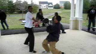 Collington station boxing 1