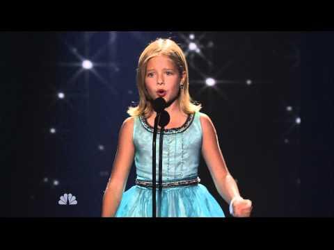 Jackie Evancho - America's Got Talent 8/31/10 HDTV