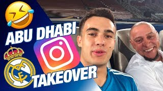 Real Madrid Instagram takeover in Abu Dhabi!