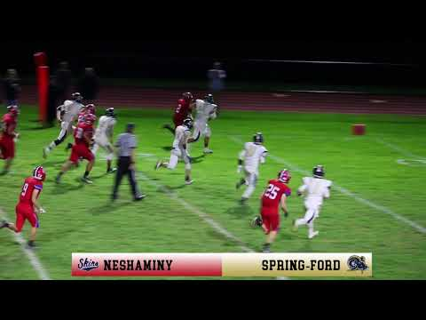 Neshaminy vs Spring-Ford Football Highlight Reel (2017-11-03)