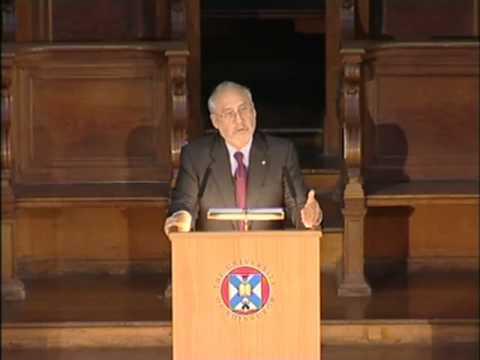 Prof. Joseph Stiglitz: Globalisation and the 21st Century Enlightenment
