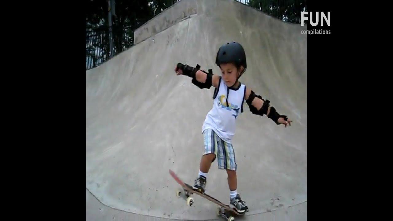 Awesome Skateboarding Kids