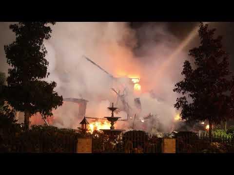 Villa verwoest door brand