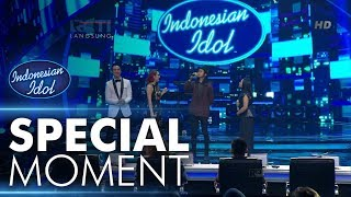 Maria duet dengan Skinnyfabs! - Grand Final - Indonesian Idol 2018