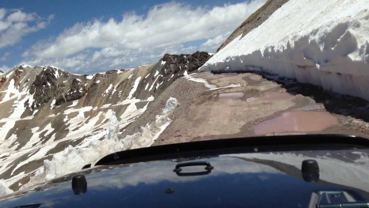 Black Bear Pass Colorado >> Engineer Pass, Silverton Colorado 2013 - YouTube
