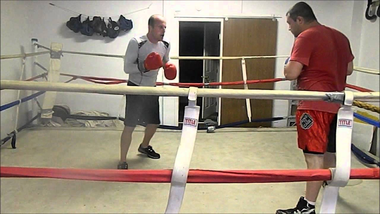 Eric Slocum sparring MikeyBond