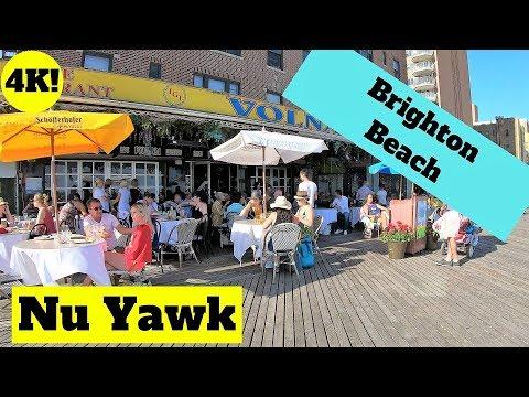 New York City Video Tour Brighton Beach 4K