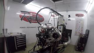 SDPC Raceshop 540ci with sideslinger ProCharger F-1X-12