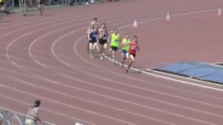 800м молодежка сильнейший забег Терентьев Антон