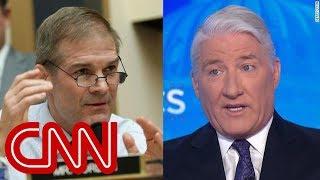 John King\'s response to Jim Jordan: Sorry, congressman