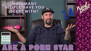 Ask A Porn Star: How Many People Have You Slept With?