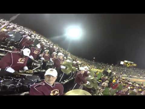 CMU Drumline - First Down Cheer