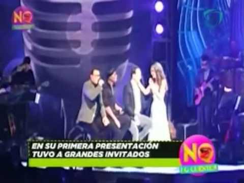 Thalía logra abarrotar el Auditorio Nacional con Leonel García de Sin Bandera, Samo de Camila y Reik