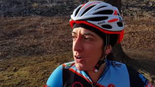 Sharon Sloan - ER doctor lucky to be alive, racing her first Cyclocross National Championships