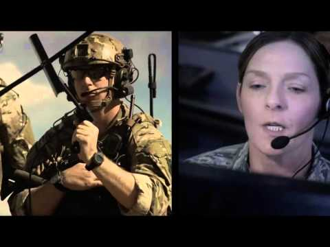 U.S Air Force's Spookey Space  & Cyber Space Command Video - Defensionem