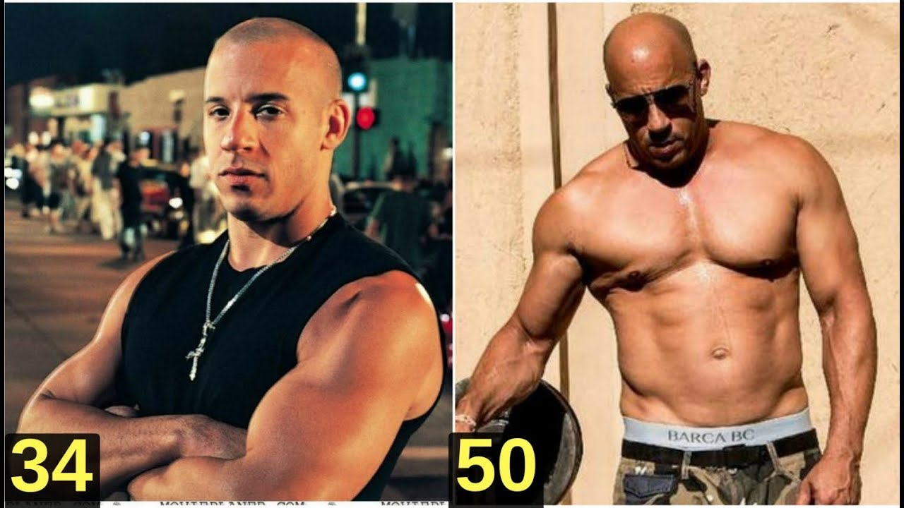 Vin Diesel From 3 to 50 years old - YouTube