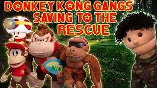 ABM Movie:  Donkey Kong Gangs Saving To The Rescue !! HD
