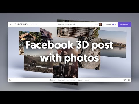 Creating a Facebook 3D post with PNG | How to fix transparency