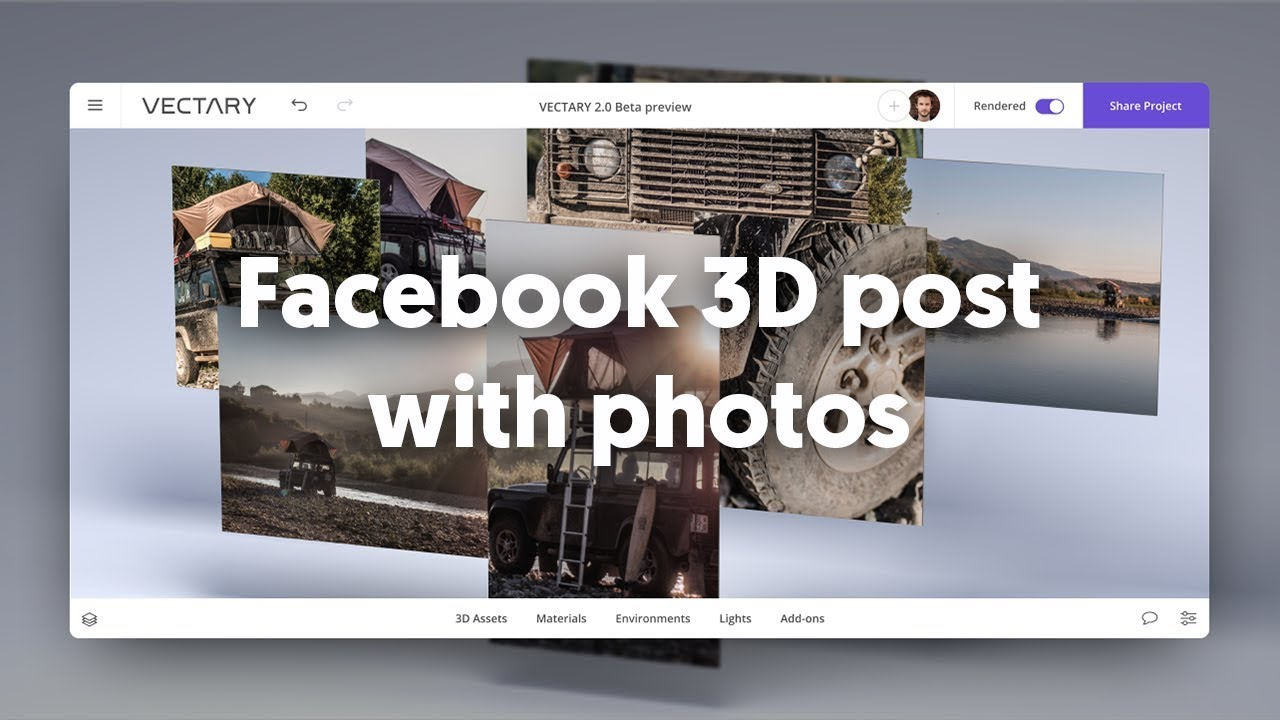 Facebook 3D photos versus Facebook 3D posts  What's the