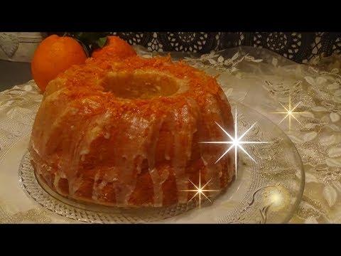 gâteau-à-l'orange🍊-et-au-yaourt