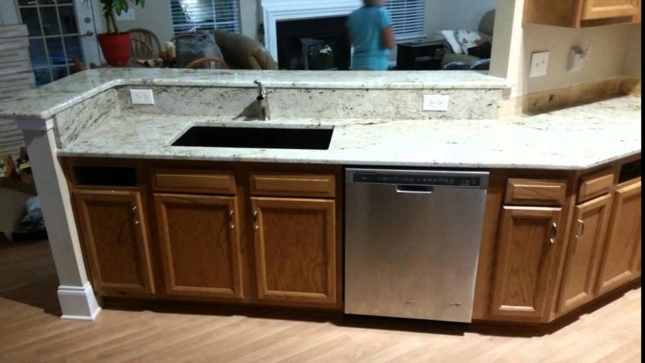 inc granite countertops cream stone watch youtube masters absolute