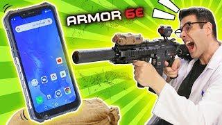 CUÁNTO RESISTE EL MÓVIL MÁS RESISTENTE DEL MUNDO: Ulefone Armor 6E