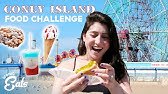 Ultimate Coney Island Food Challenge: Trying All Of The Luna Park Treats
