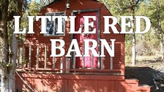 Building The Little Red Barn