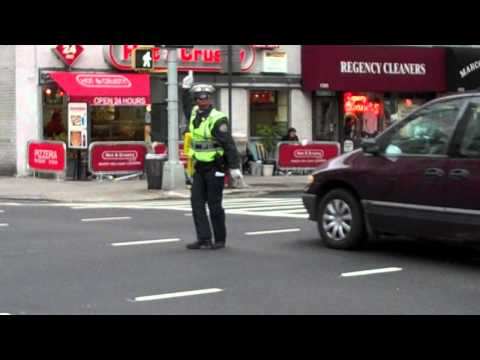 NYC Dancing Traffic Cop