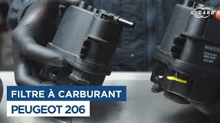 Comment Changer le Filtre Carburant - Peugeot 206