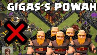 Gigantes en lugar de sabuesos | Ataques | Clash of Clans
