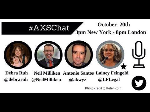AXSchat with Lainey Feingold. Disability rights lawyer working with the blind community