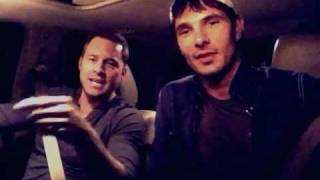 Drew and Tim  driving talking about DLIfe