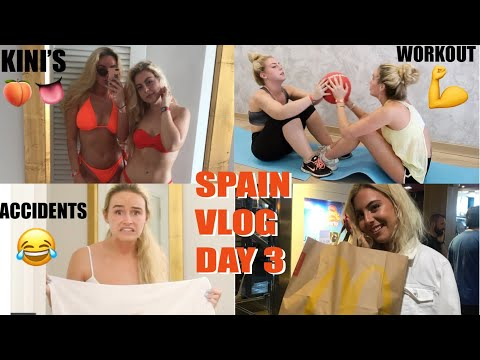 SHE HAD AN ACCIDENT | SPAIN VLOG 3 | SYD AND ELL