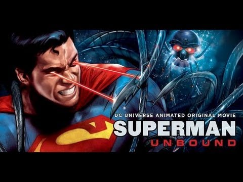 Superman Unbound (2013) DC Animated DVD Review! Watch it free!