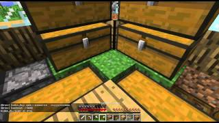 Два друга играют в minecraft часть 1
