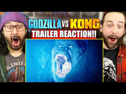 GODZILLA VS KONG - TRAILER REACTION!! (It's Finally Here! | MechaGodzilla?!)