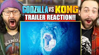 GODZILLA VS KONG - TRAILER REACTION!! (It's Finally Here! | MechaGodzilla?!)